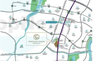 Sengkang Grand Residences Location Map Singapore