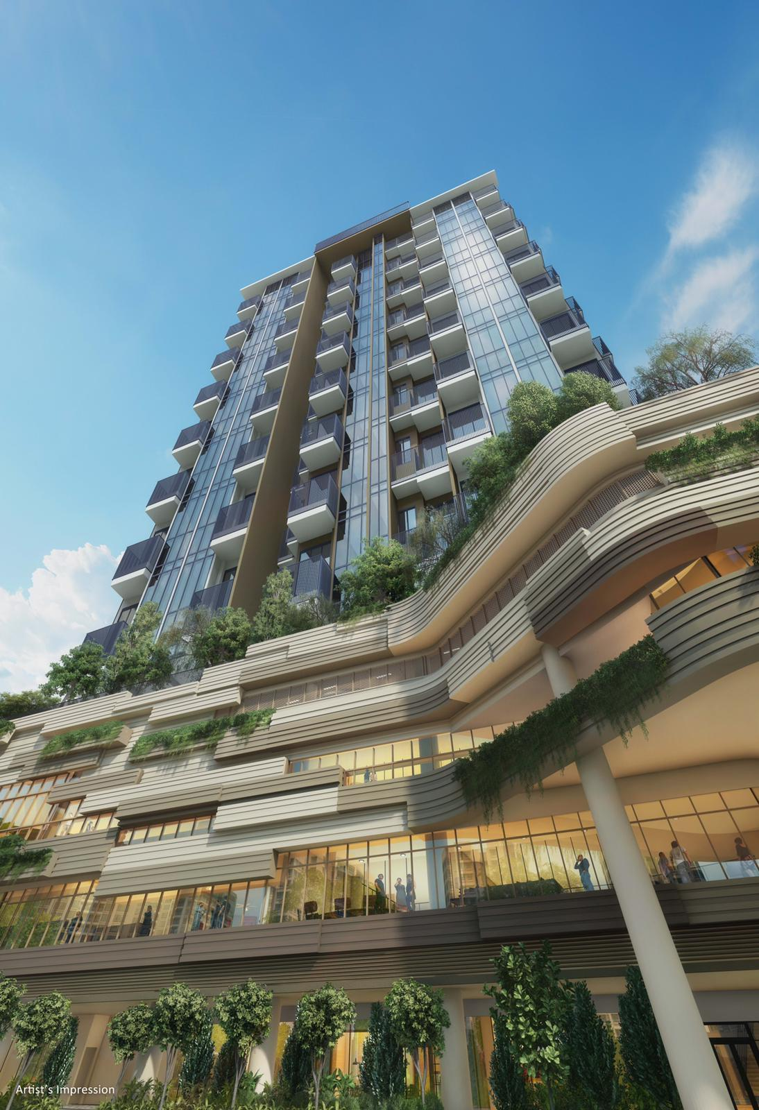 sengkang grand residences singapore integrated development where you live above the things you love